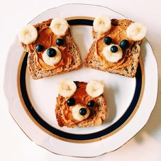 Our Bear Toast family that we made!