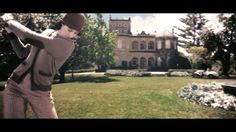 "The Great Gatsby (2013) | Louisville: ""The largest of the lawns belonged to Daisy Fays house. She was just eighteen, two years older than me, and by far the most popular of all the young girls in Louisville. She dressed in white, and had a little white roadster…"" – Jordan Baker"
