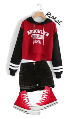 """""""Untitled #392"""" by kirie59 on Polyvore featuring River Island and Converse"""