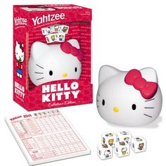 awesome Yahtzee Hello Kitty 19.99