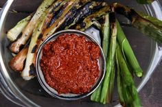 What's doesn't taste good with a dollop of Romesco Sauce?