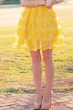 yellow sunflower dress