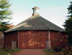 Round Barn - Southwest of Eagle at Old World Wisconsin. Waukesha Co - WI