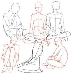 40 Ideas for drawing people sitting pose reference Body Drawing, Drawing Base, Anatomy Drawing, Drawing Skills, Drawing Techniques, Drawing Sketches, Drawings, Drawing Tips, Sitting Pose Reference