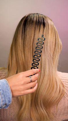 Side Braid Hairstyles, Easy Hairstyles For Long Hair, Hair Yarn, Hair Curling Tutorial, Long Hair Video, Hair Decorations, Girl Haircuts, Grunge Hair, Hair Accessories For Women