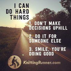 Get inspired by Knitting Runner David Babcock!