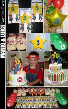 Mario Bros. party