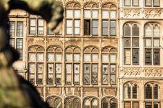 Antwerp, Gildehuizen.  #visitflanders #architecture #medieval #flanders #travel City Style, Belgium, Medieval, Louvre, Museum, Explore, Architecture, World, Building
