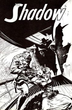 Kaluta- the rare unpublished cover to Shadow #5