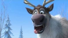 Sven - Frozen disney movie Best character in the movie :)
