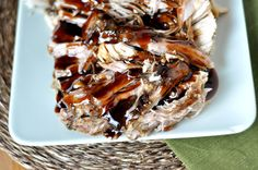 Sweet Balsamic Glazed Pork Loin {Slow Cooker} - made 11/19. Really good flavor to this! The glaze is fantastic and pulls it together nicely. I put the glaze on the side for my kids. One of them liked it, the other not so much. Hubby and I ate it up! For 2 lbs, mine was ready at 5 hours on low.