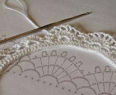 crochet borders | crochet lace border