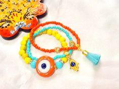 SALE  GYPSY PROTECTION bracelet  amulet bracelet  gypsy by Nezihe1