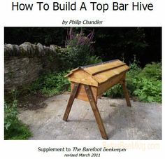 THIS IS SOO MY PLANS (SAYS KERRI) Build a Top Bar Bee Hive Printed and ready to do this winter!