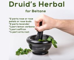 Magical Recipies Online | The Druid's Herbal of Beltane