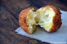 Arancini (Rice Balls) with Marinara Sauce Recipe