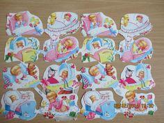Selten!Glanzbilder,Oblaten,Scraps,Bokkmärken, Krüger 98/43 Babys, mit Logo u.   eBay