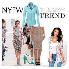 """Affordable Version: NYFW runway trend"" by karensmedley on Polyvore featuring Altuzarra, Boohoo, Rare London and LE3NO"