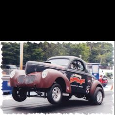 "The ""Handshaker"" all steel Willys"