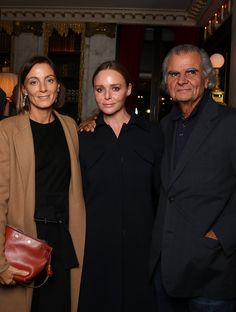 Phoebe Philo, Stella McCartney, and Patrick Demarchelier