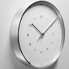 Max Bill Wall Clocks, Number   Hanging At Wall Wanduhren, Traditionelle  Wanduhren, Designer
