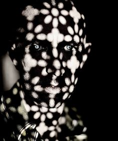 Kroutchev Planet Photo: Brett Walker (b. is a UK photographer Shadow Photography, White Photography, Portrait Photography, Creative Photography, Shadow Play, Light And Shadow, Face Art, Light In The Dark, Illusions