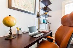Modern Mid Century home office