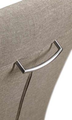 Detail eetfauteuil Camino | Voor meer informatie en de diverse mogelijkheden kijkt u op www.prontowonen.nl #ProntoWonen #stoelen #woonkamer #eetkamer #interieur