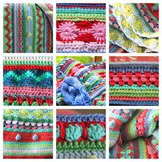 Mejores 144 Imagenes De Mantas Crochet En Pinterest En 2018 - Mantas-bonitas