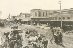 Rosebud Main Street circa 1914
