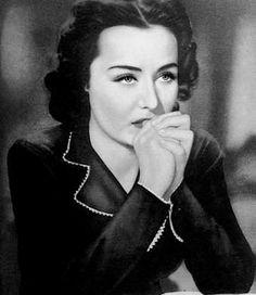 Beautiful Czechoslovak actress Hana Vitova (1914-1987).