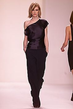 Calvin Klein Collection Fall 2001 Ready-to-Wear Fashion Show - Natasa Vojnovic, Calvin Klein