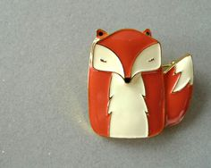 Mr Fox ENAMEL PIN