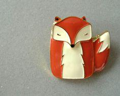 Mr Fox ENAMEL PIN