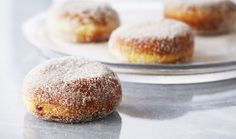 Raspberry Jelly Doughnuts : Bake with Anna Olson : The Home Channel