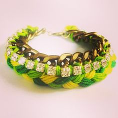 SnapWidget | From last summer, 5 #diy bracelets for spring/summer