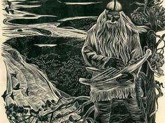Новая «Калевала » –  силлюстрациямиМюда Мечева