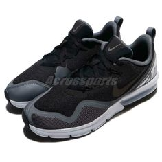 official photos 28ae9 1e8e8 (eBay Sponsored) Nike Air Max Fury GS Black Dark Grey Kid Women Running  Shoes