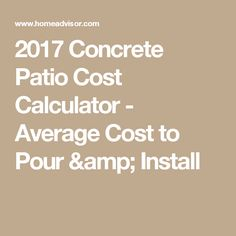 Concrete Calculator And Price Estimator   Find Cubic Yards And Bags Of  Concrete Needed For Slabs And Footings | Bags, Yards And Concrete Calculator