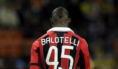 Mario Balotelli scored twice for his debut for AC Milan
