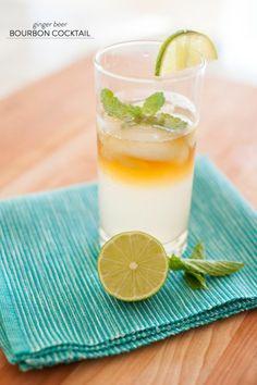 Ginger Beer Bourbon Cocktail. Try our Ginger Limonitz. Fresh, organic, sparkling ginger lemonade. details at limonitz.com