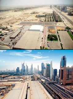 funportal2013: Dubai in 1995 and now in 2013 it's amazing to see it