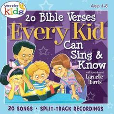 20 Bible Verses Kids Can Sing and Know