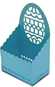 View Design: basket box easter egg. para colocar las bolsas de papel en las que meten las golosinas