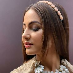 Image may contain: 1 person, closeup Heena Khan, Stylish Girl Pic, Tv Actors, Diva Fashion, Celebs, Celebrities, Wedding Looks, Hd Photos, Indian Actresses