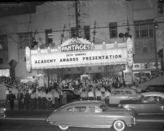 26th Annual Academy Awards at RKO Pantages Theater in Los Angeles, 1954 cropped - Pantages Theatre (Hollywood) - Wikipedia, the free encyclopedia