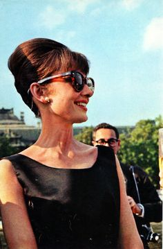 Audrey Hepburn in Paris doing publicity for Paris When It Sizzles - June 14th, 1962.