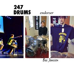Want to become a 247drums endorser and SAVE BIG + get extra visibility and become part of a large and fast and growing #drumming family?  Email us 247drums@gmail.com with ENDORSEMENT in the subject line.  Welcome to Bas Janssen   @radioactive_breakfast #Bas #Janssen #drums #drummer #drumporn #music #MusicCanChangeTheWorld #247drumsendorser #Winchester #Boston #Massachusetts #NewEngland #Sergio #Bellotti