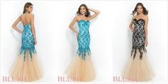 Lace Prom dress gown evening dress#o.1