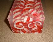 Peppermint Curls Soap Loaf